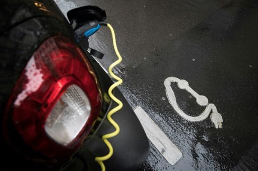 voitures électriques bornes