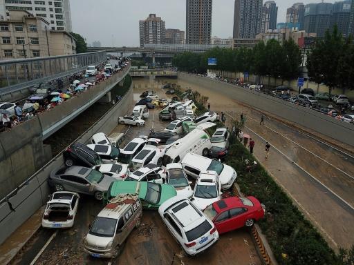 zhengzhou pluies