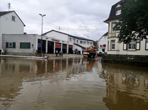 allemagne inondations village