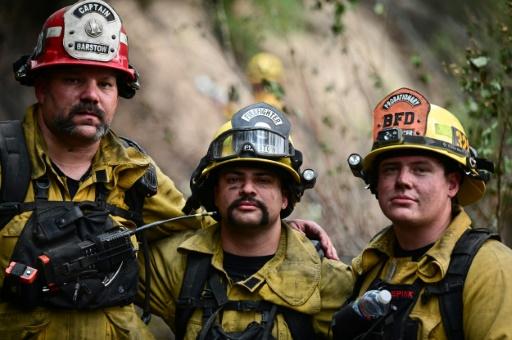 etats-unis californie incendies pompiers