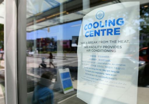 centre de rafraichissement chaleur canada Etats-Unis