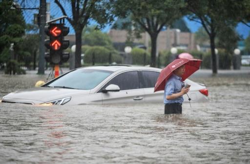 chine inondation
