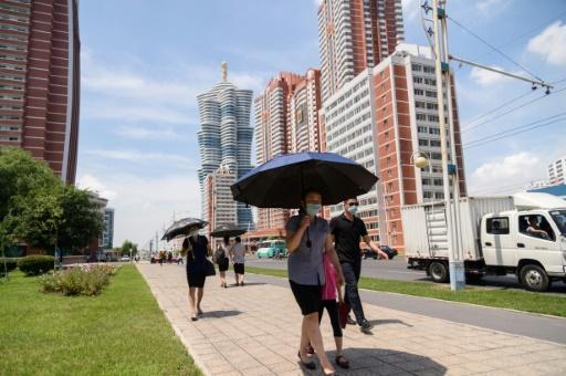 corée du nord pyongyang forte température