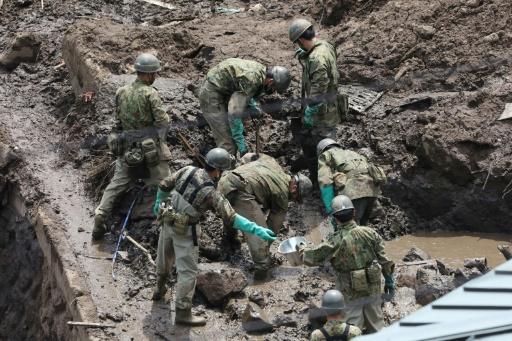 coulée de boue japon bilan