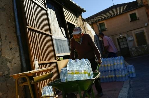 espagne pénurie d'eau