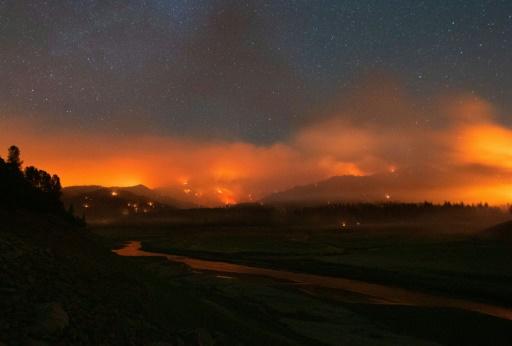 incendies californie etats-unis canada dome de chaleur