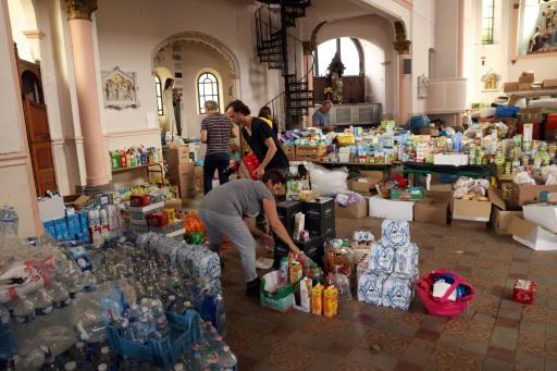 inondations belgique trooz solidarité aides