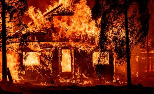californie pompiers incendie