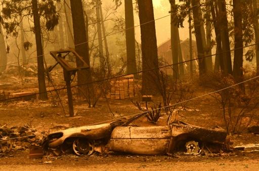 incendies californie pompiers
