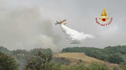 incendies sardaigne