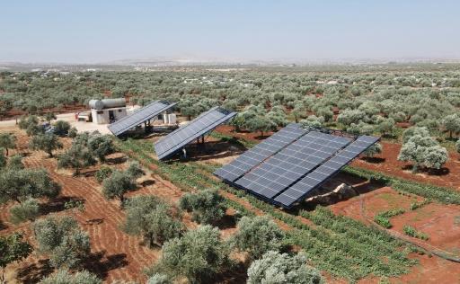 Syrie panneaux solaires