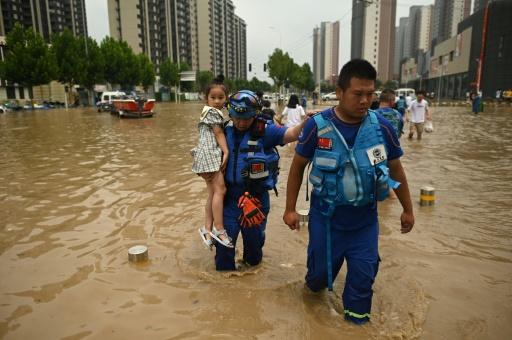 zhengzhou inondations victimes