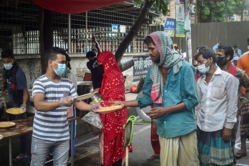 bangladesh cantine pandemie
