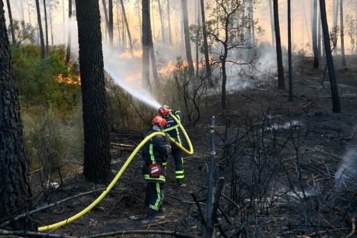 cote d'azur incendies décès retour au calme