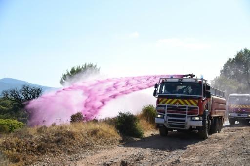 cote d'azur incendie pompiers