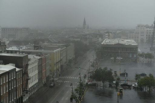 ida louisiane tempête