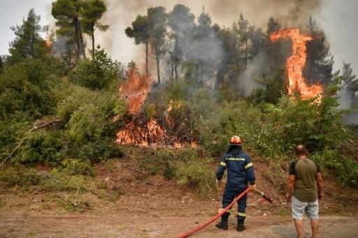 pompiers grèce feux turquie