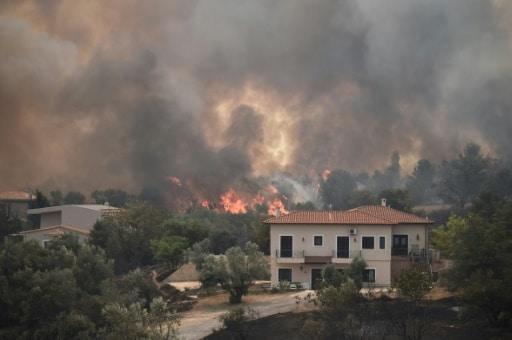 turquie incendies feux grèce