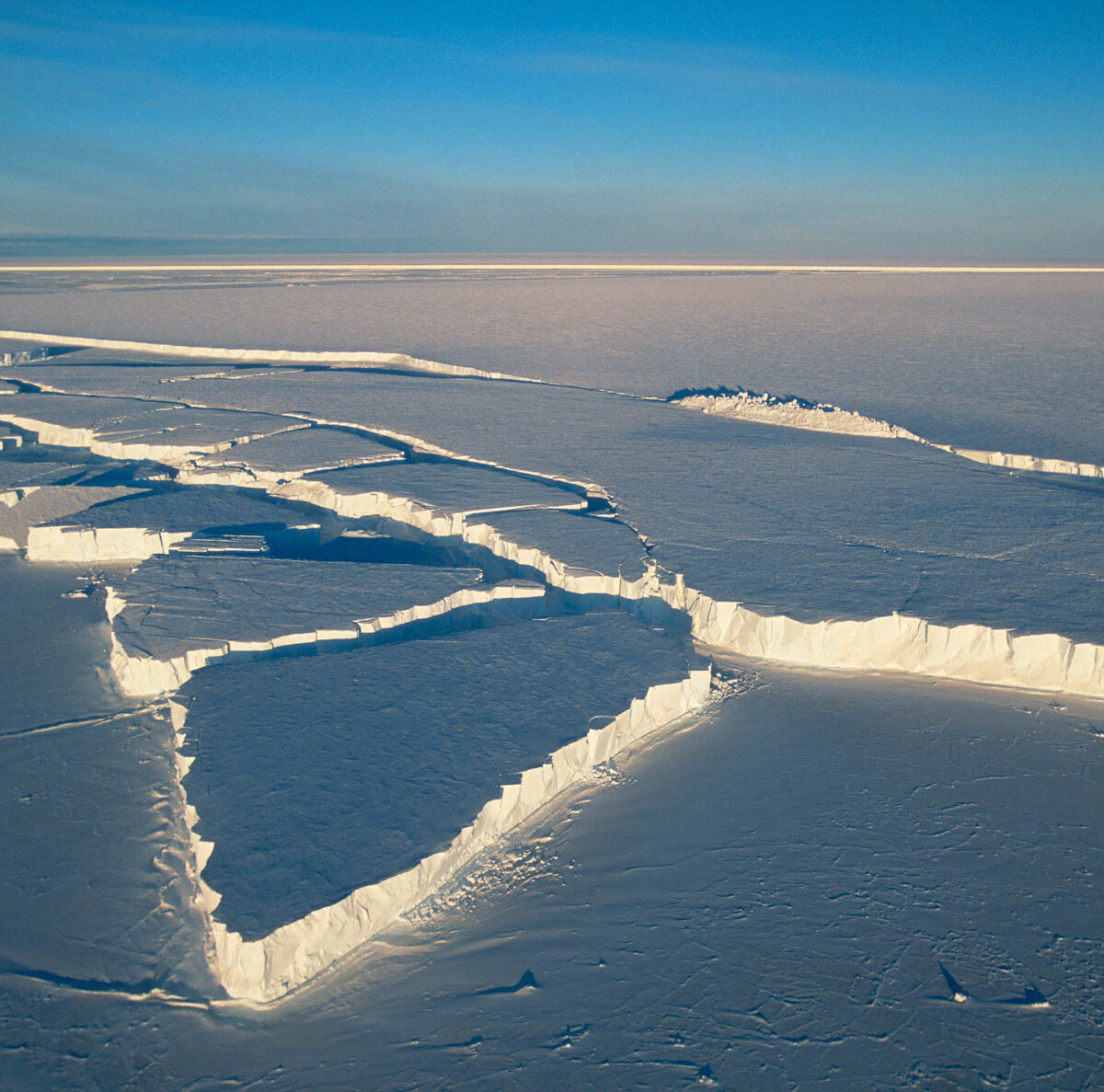 Antartique trou couche d'ozone