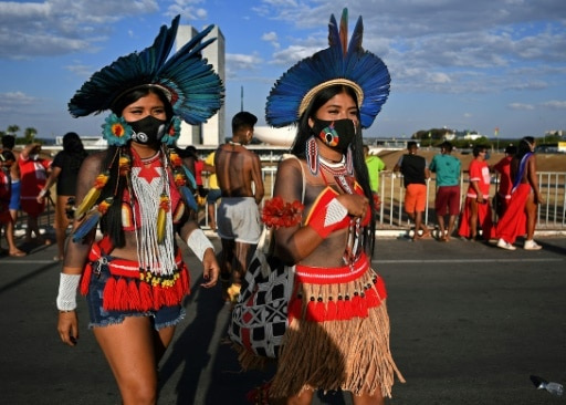 indigènes manifestations brésil