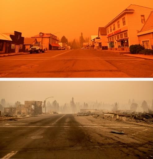 incendies californie dixie fire greenville