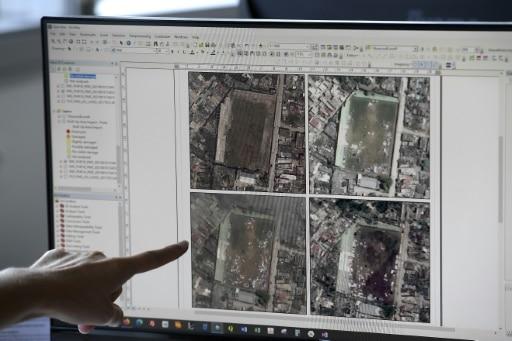cartographie de l'urgence catastrophes naturelles