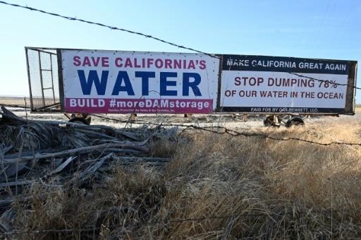 sécheresse eau manque californie etats-unis
