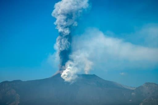 etna volcan éruption
