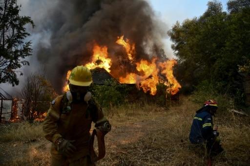 incendies péloponnèse grèce bilan