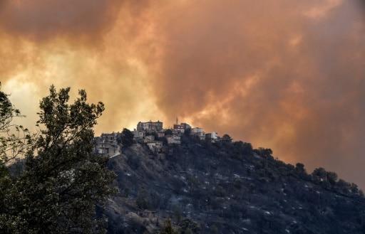 algérie incendies morts