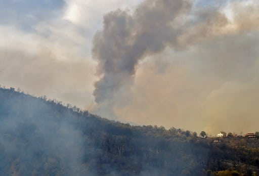 incendies algérie kabylie