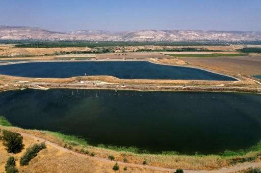 pénurie d'eau israël jordanie changement climatique