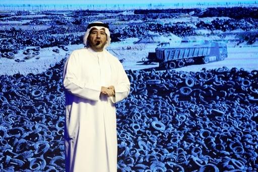koweït cimetière de pneu en ville