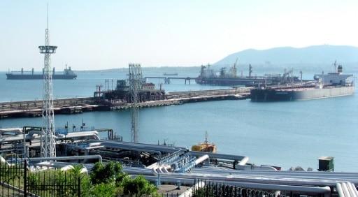 fuite pétrole russie port pétrolier