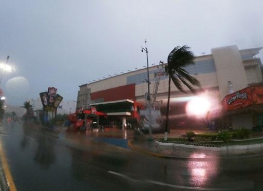 tempête grace yucatan