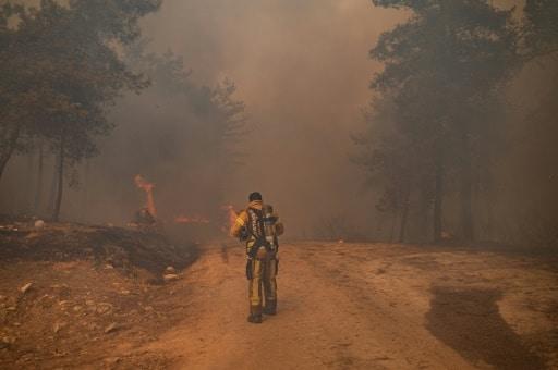 turquie incendie grèce évacuation