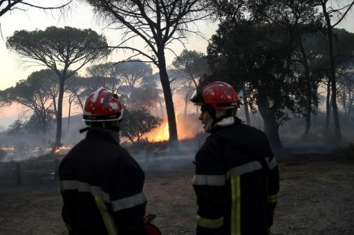 pompiers incendies var