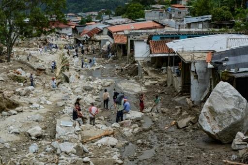 venezuela pluies déluviennes morts