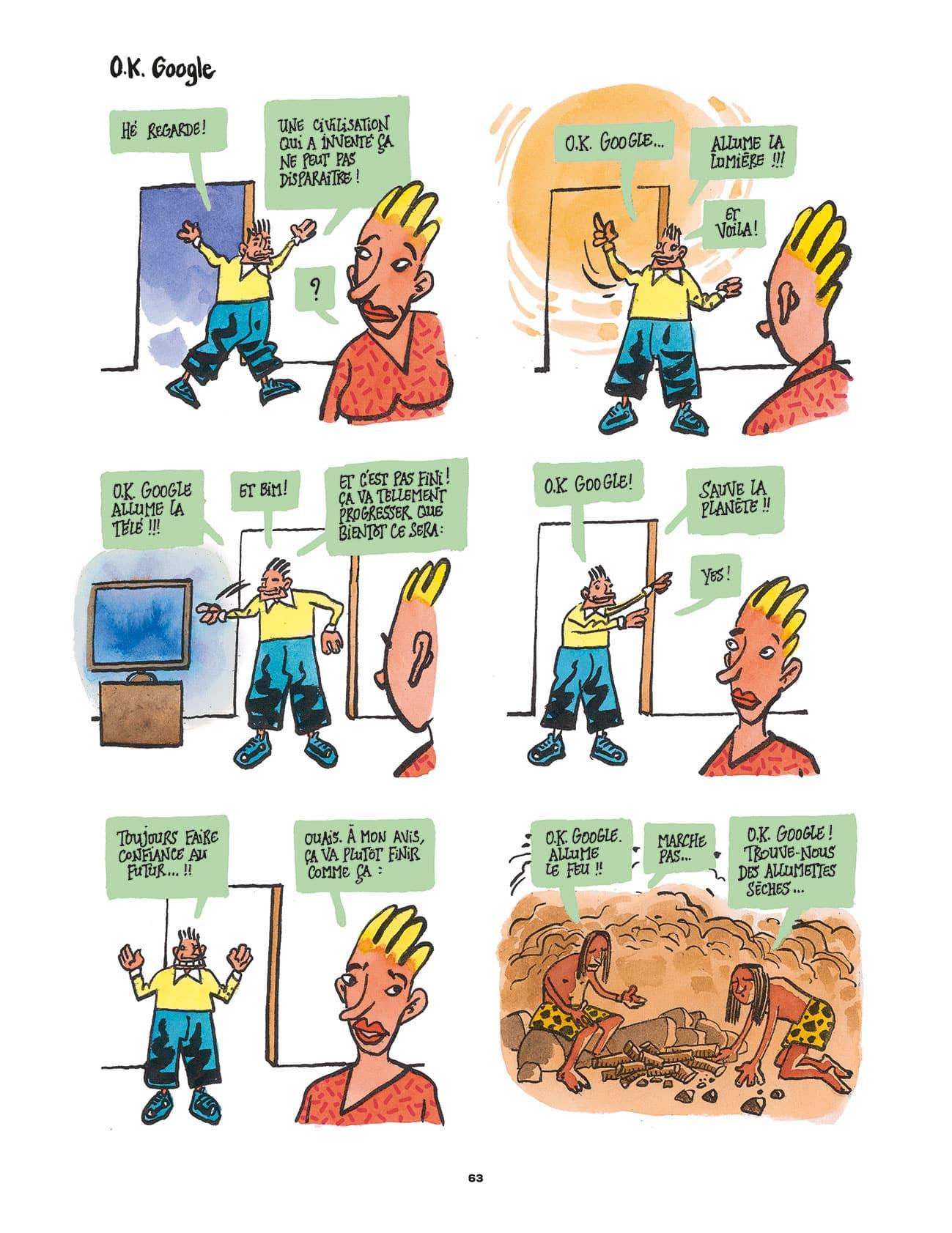 les catastrophobes tronchet
