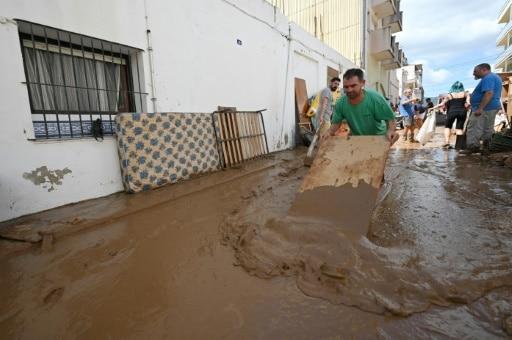 espagne pluies diluviennes