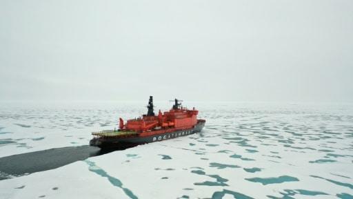pole nord glace réchauffement climatique
