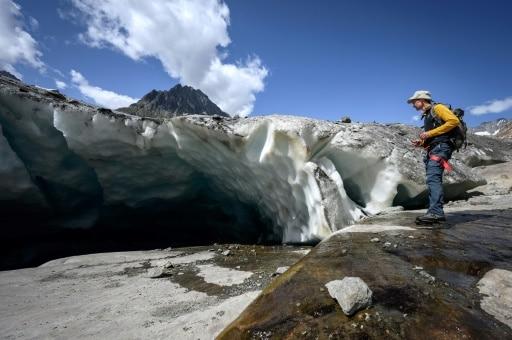 recul des glaciers Mathias Huss