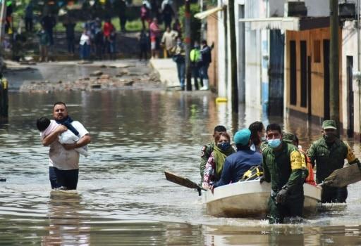 inondations mexique soldats aide