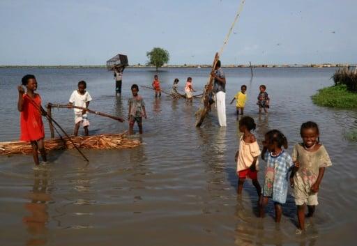 réfugiés sud soudanais inondations