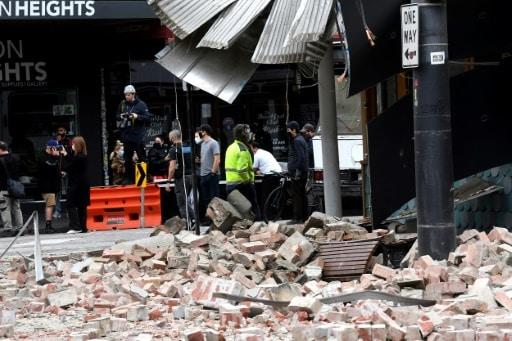 séisme melbourne