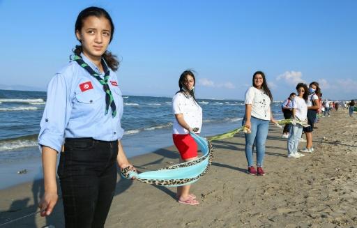tunisie révolte citoyenne pollution marine