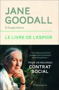 jane goodall livre de l'espoir