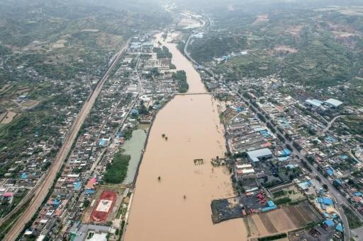 chine charbon innondations
