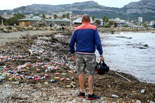 marseille ordure mer