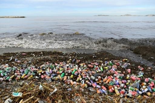 déchets mer marseille
